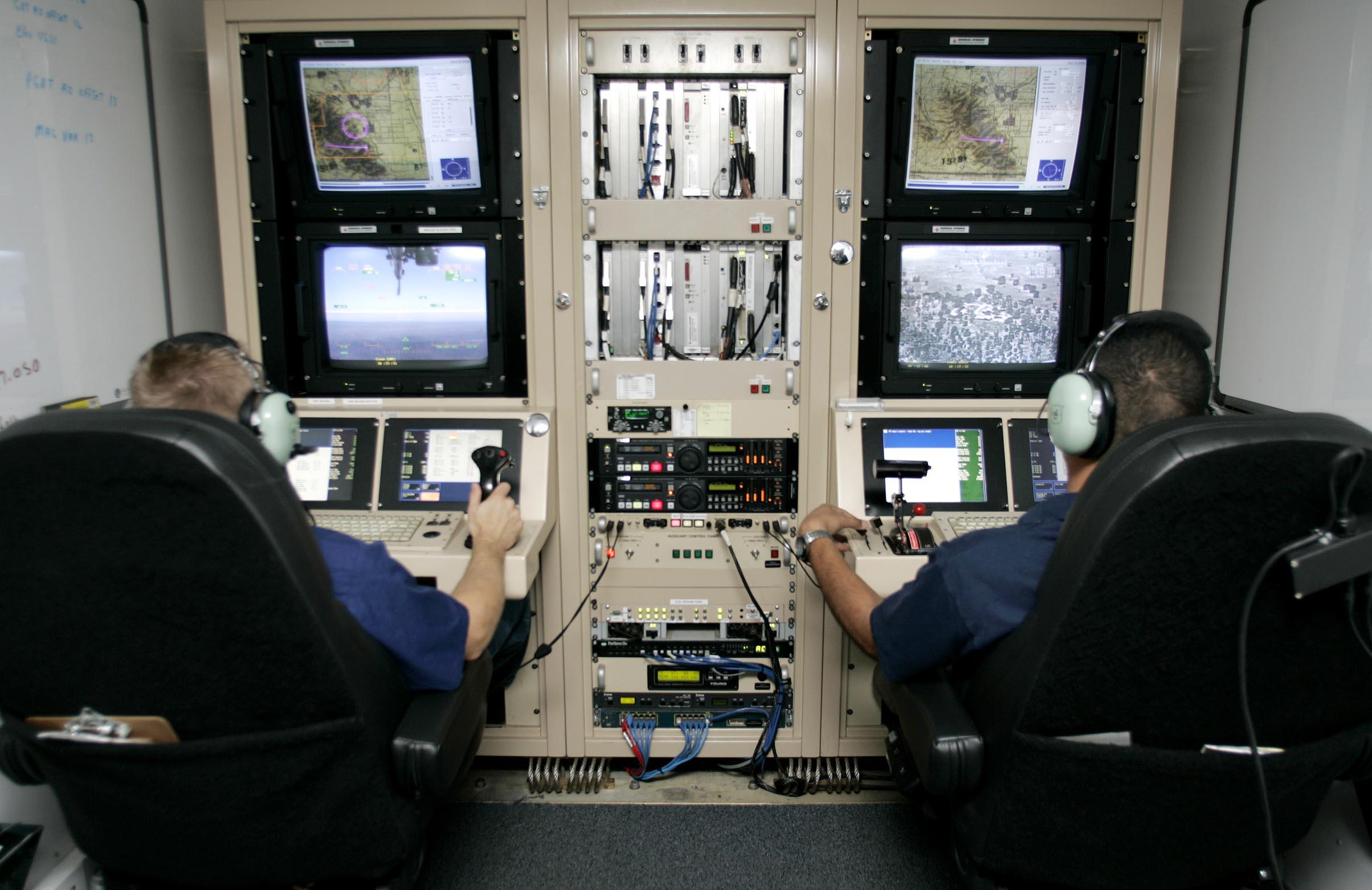 Boden Kontrollstation Fur Drohnen Einsatze