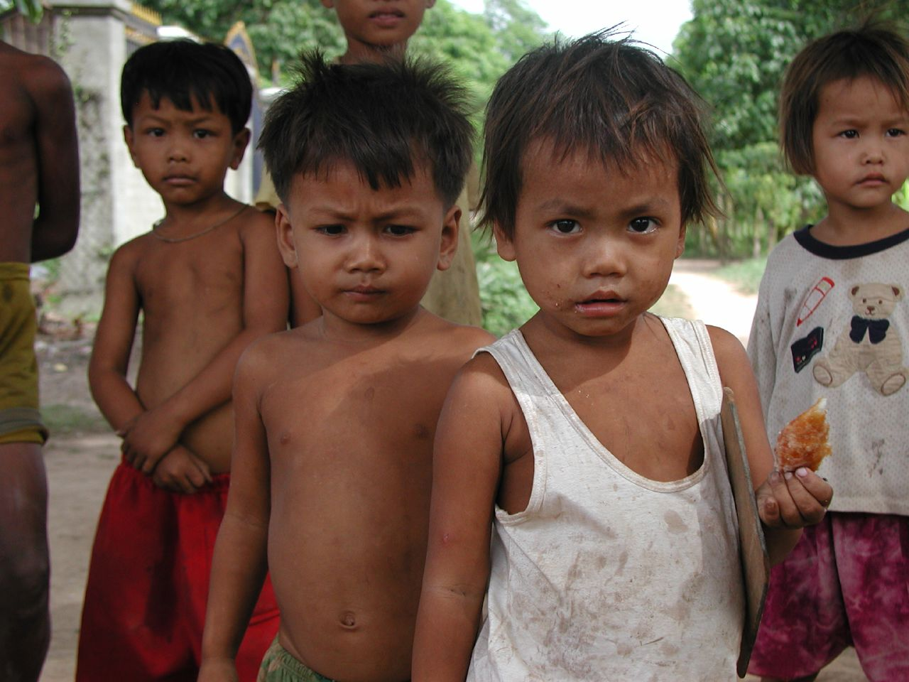 Plights of Khmer Children