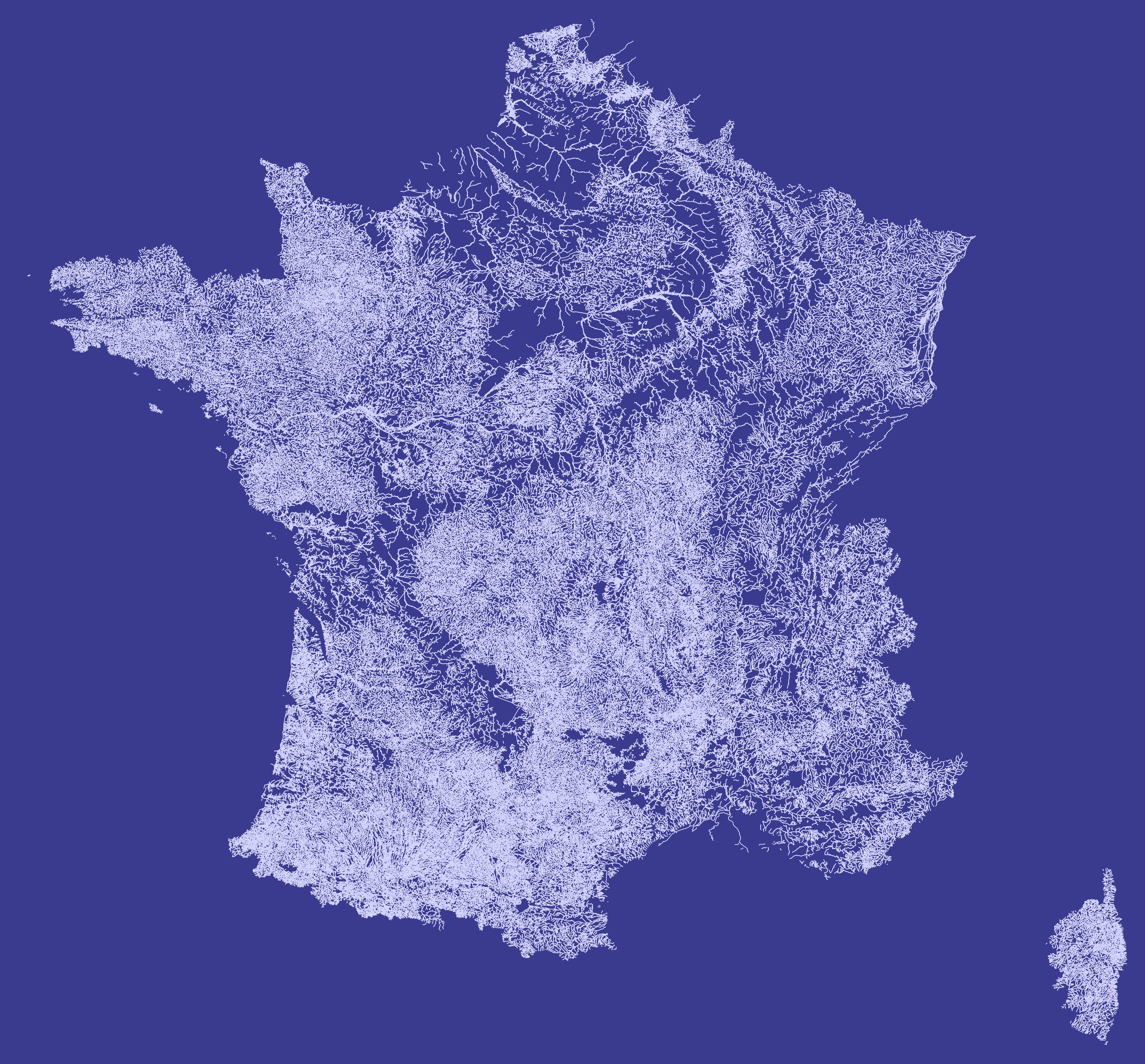 carte cours d eau france File:Carte France hydrographie cours d'eau fond bleu foncé.png