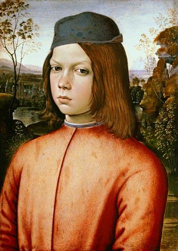 Пинтуриккьо. Юный Чезаре (а может, и не он). Изображение из Википедии.