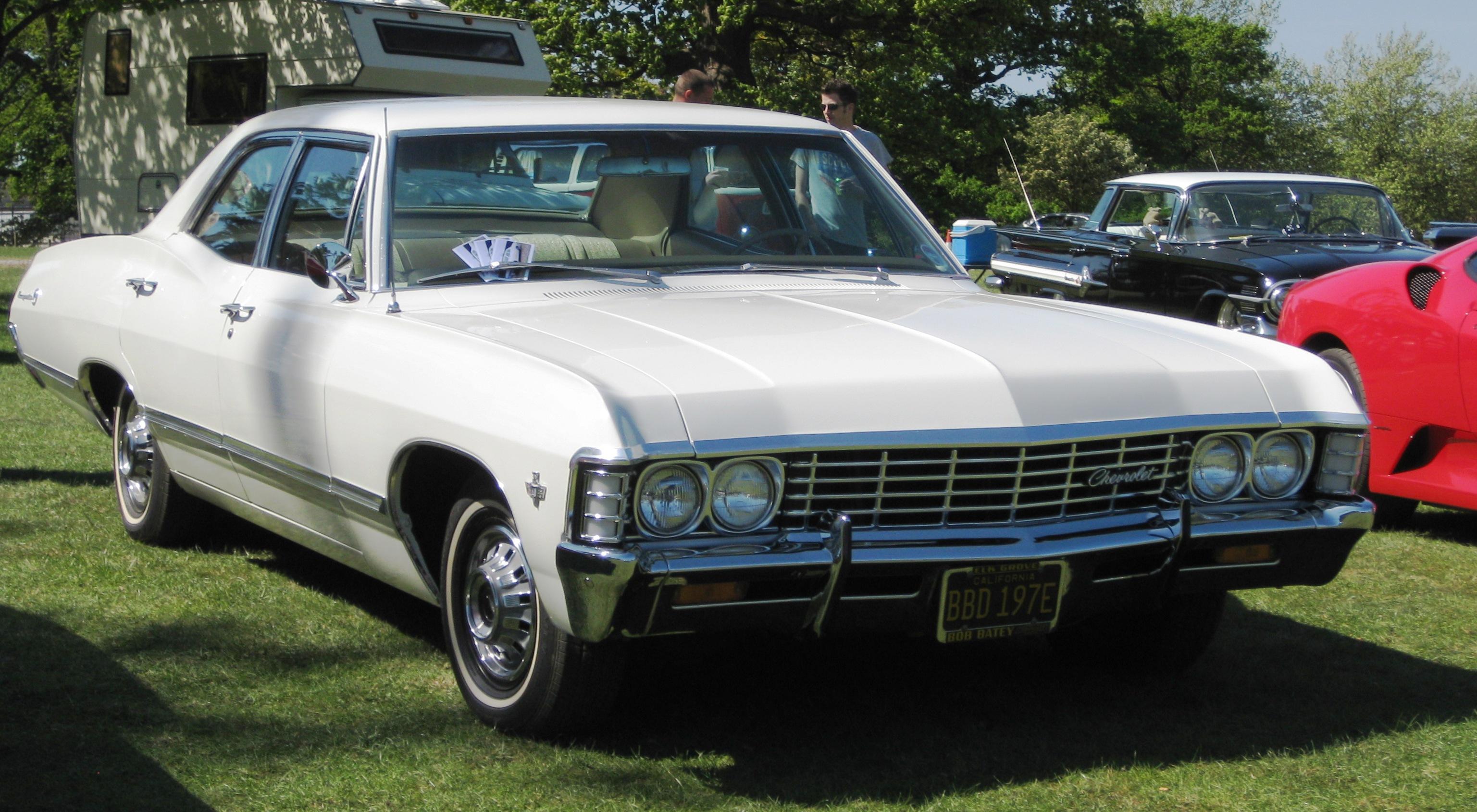 Chevrolet Impala 1967 - технические характеристики