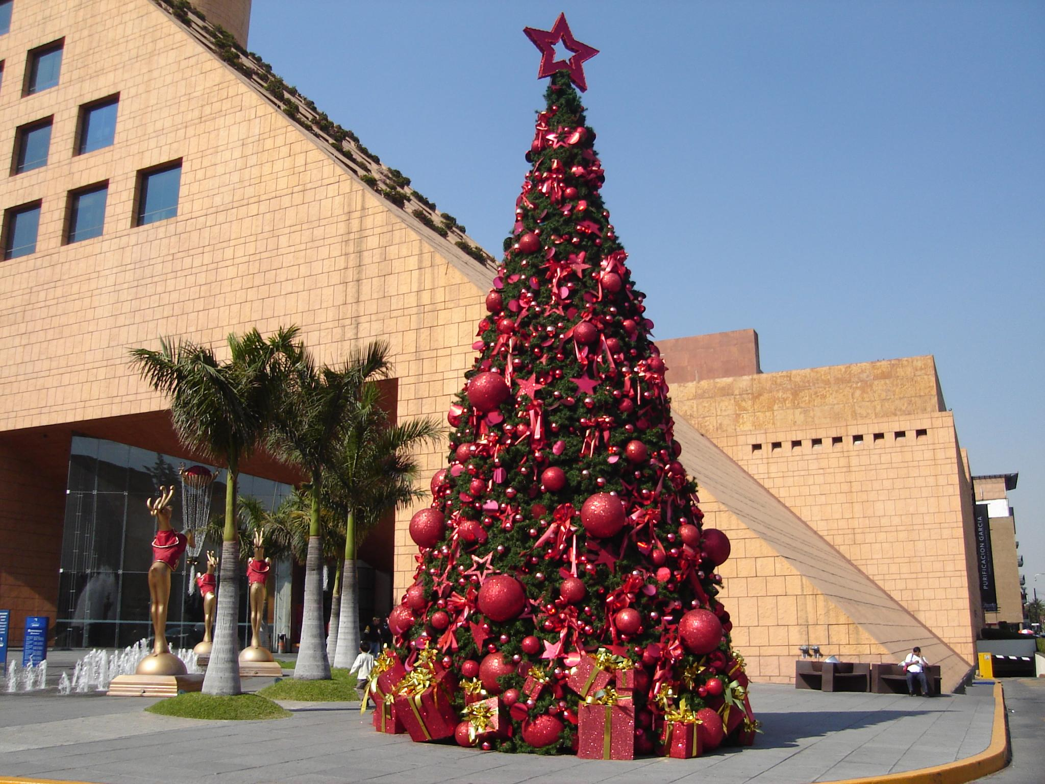 FileChristmas Tree In Moliere Shopping Malljpg