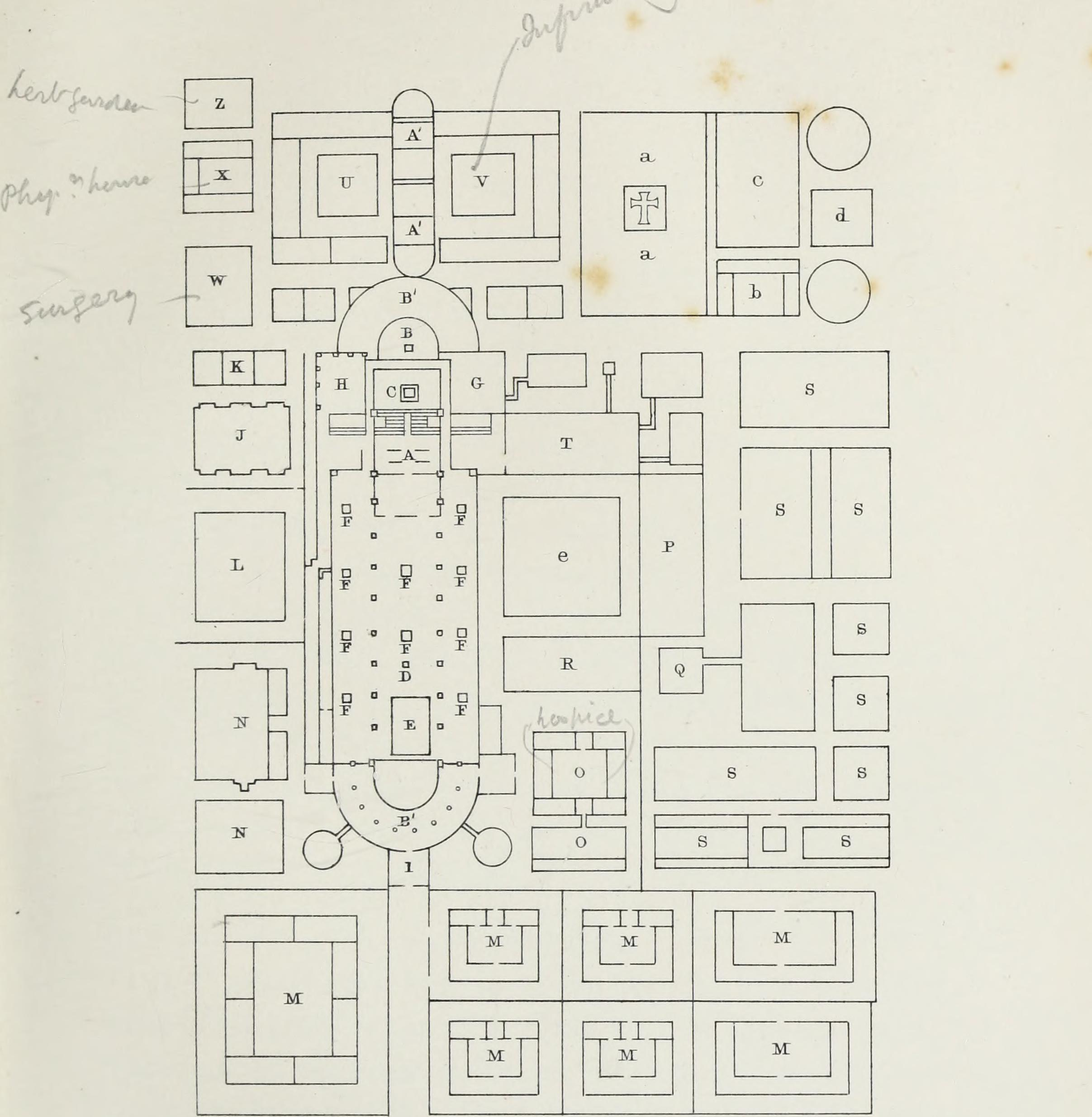 And illustrated by a series of ground-plans and plates of the arrangements of churches in different (14760791836).jpg