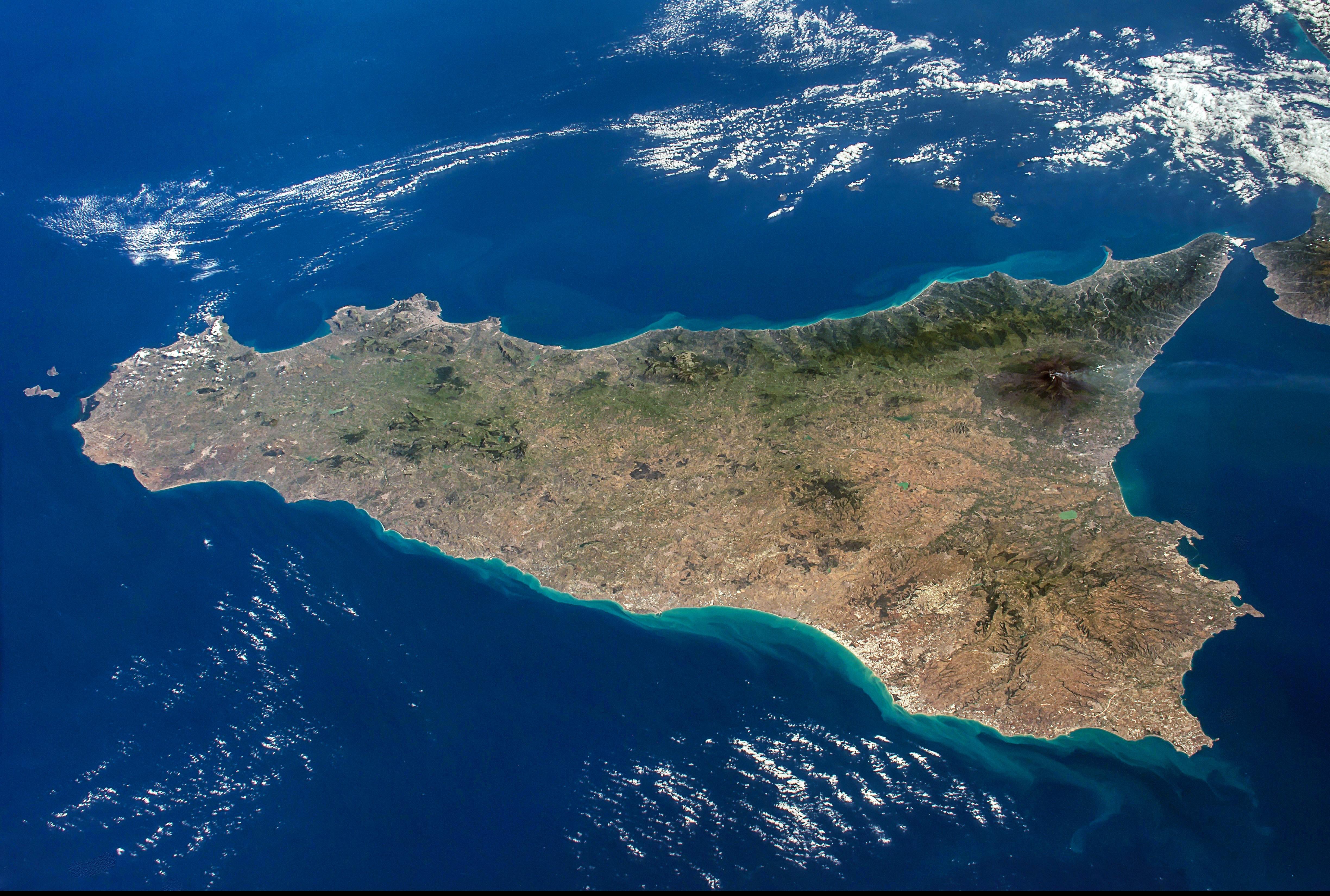 Cartina Della Sicilia Con Le Isole.Isola Di Sicilia Wikipedia