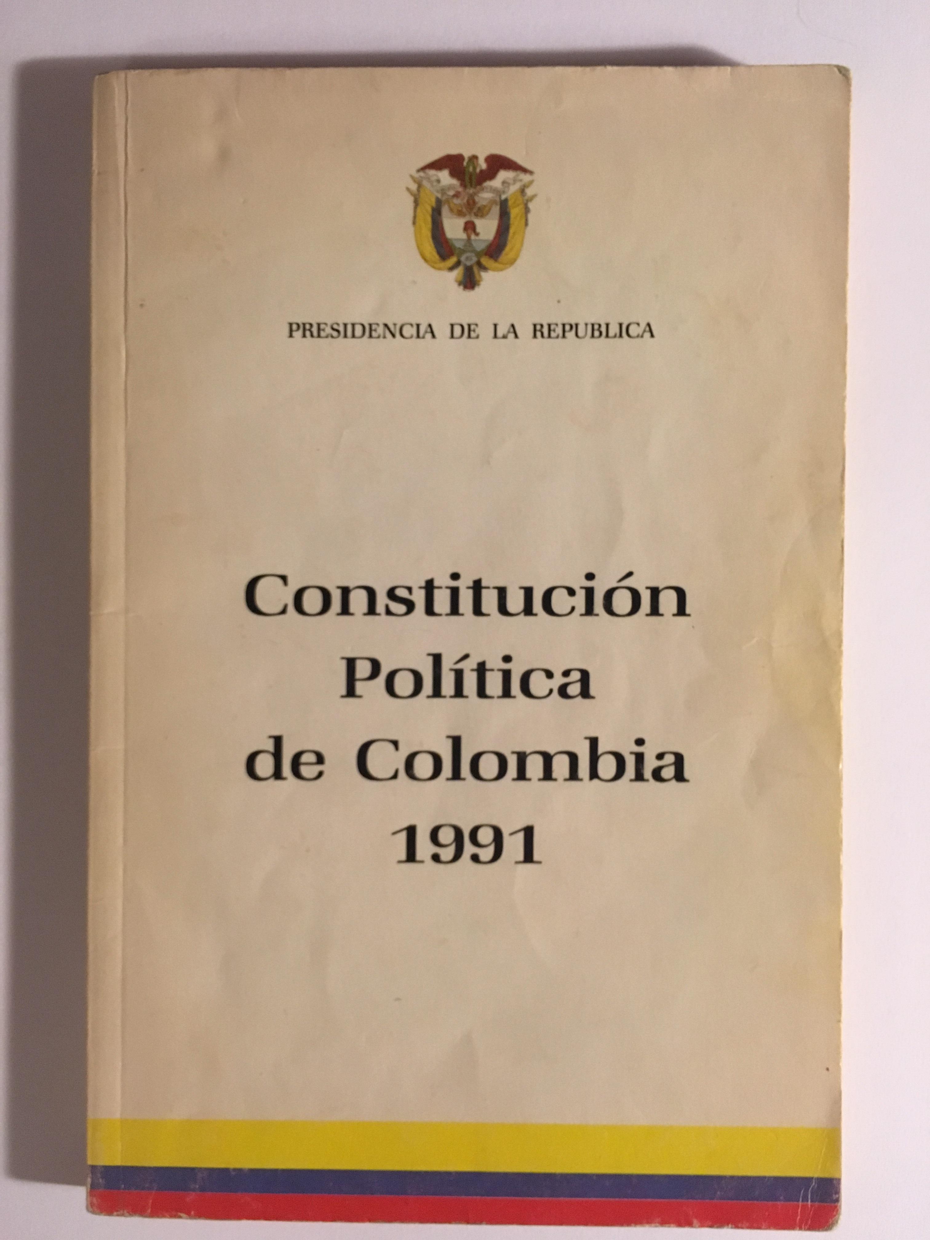 Constitución De Colombia Wikipedia La Enciclopedia Libre
