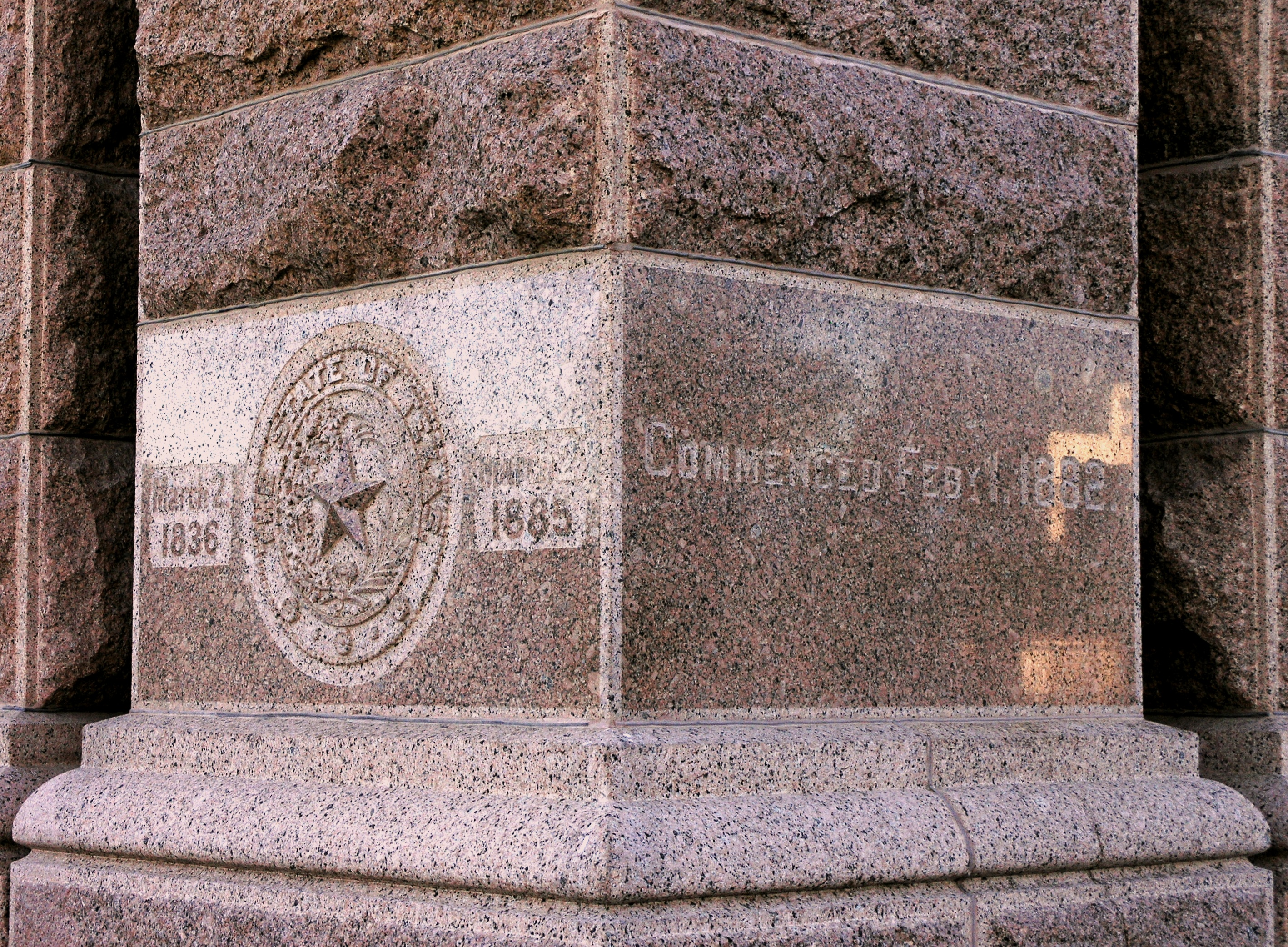 File:Cornerstone of Texas State Capitol building.JPG