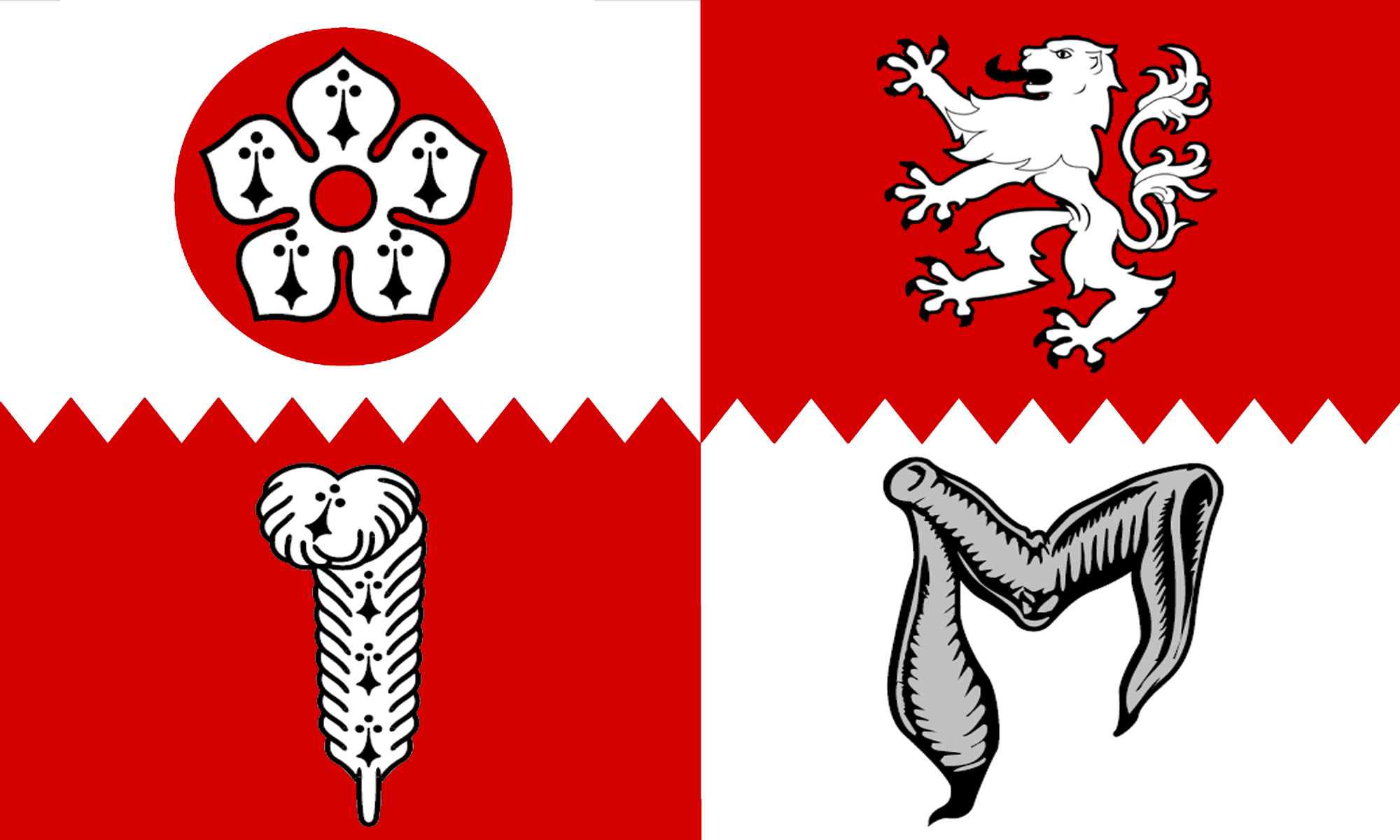 Flag of Leicestershire