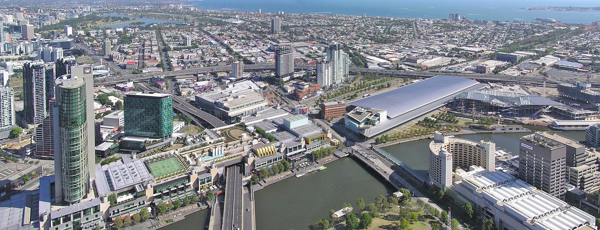 Crown Casino Complex Amp Melbourne Exhibition Building