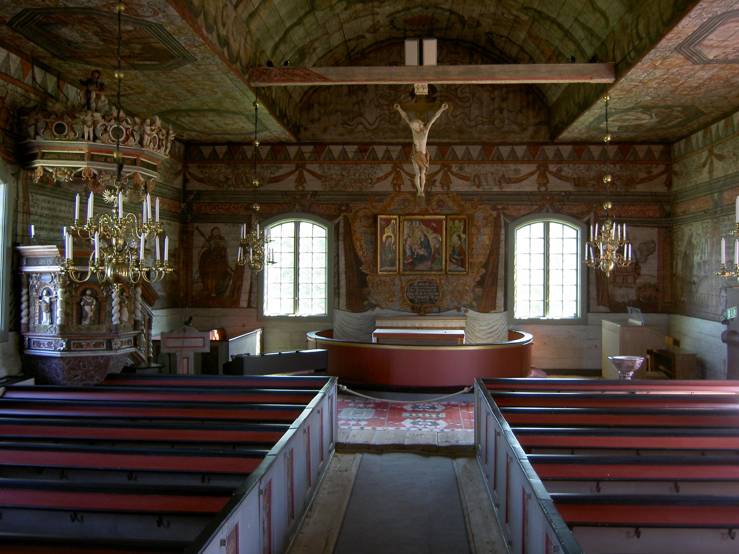 Djursdala church (interior)