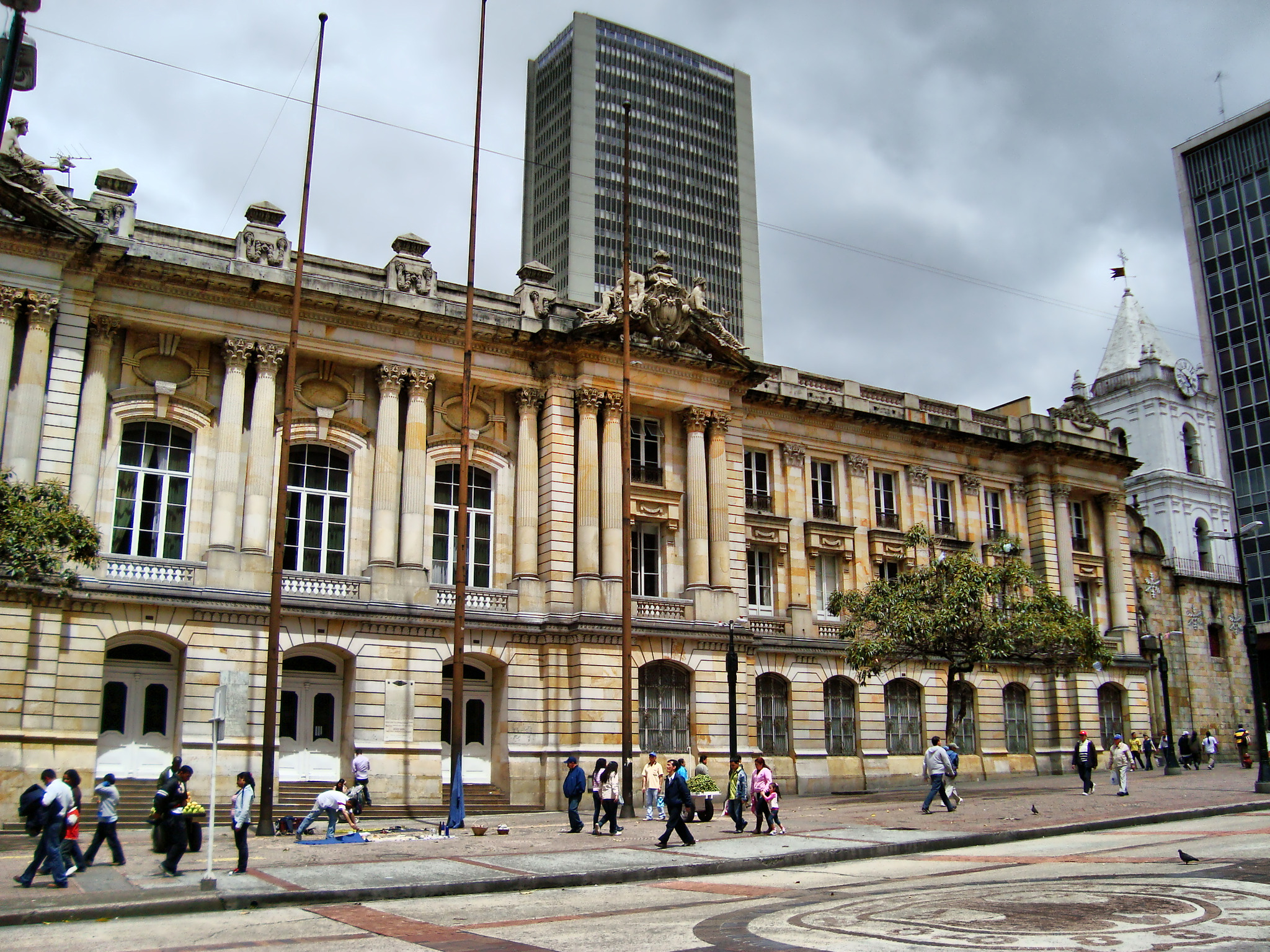Archivo edificio de la gobernaci n de cundinamarca for Ministerio de gobernacion