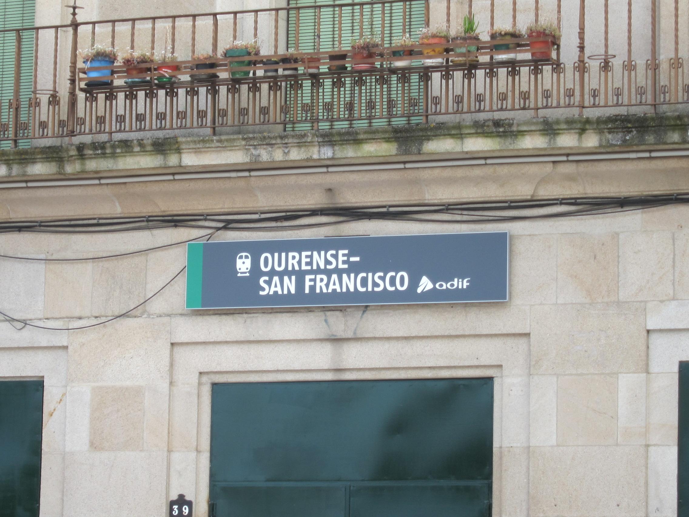 Estación de Ourense-San Francisco