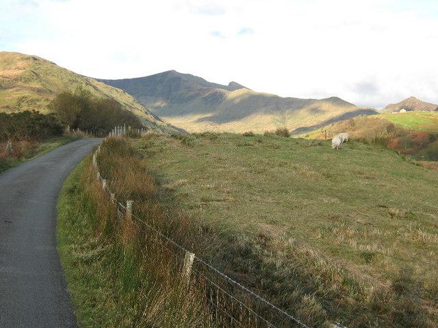 Farmland in Cwm Pennant - geograph.org.uk - 1060361