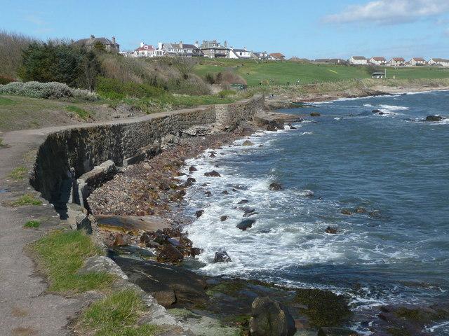 Fife Coastal Path at Crail - geograph.org.uk - 1240233