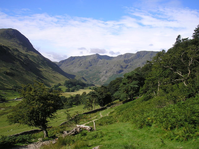 Fine Day in Grisedale - geograph.org.uk - 746932