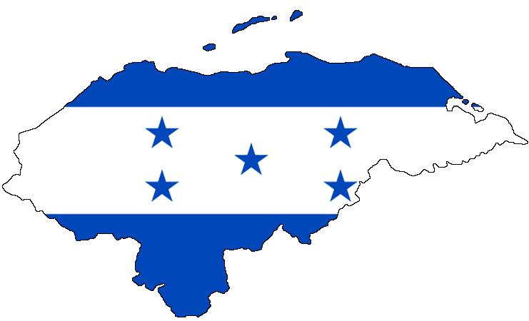 Honduras Flag Map File:Flag map of Honduras.png   Wikimedia Commons