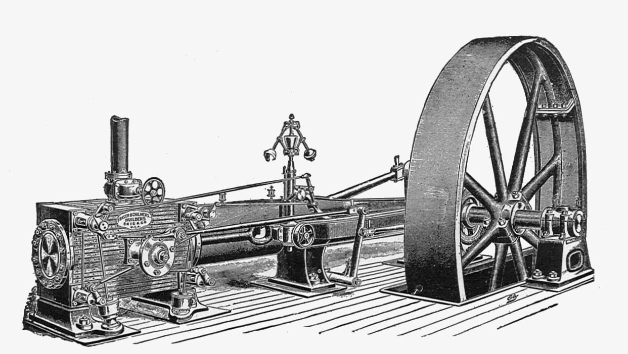 File:Fraser & Chalmers' horizontal Corliss engine (New