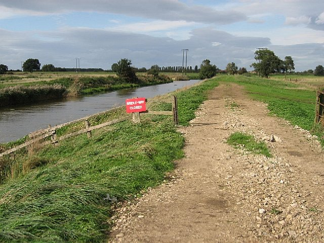 Geographer Impeded - geograph.org.uk - 255407