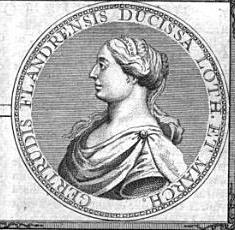 Gertrude of Flanders, Duchess of Lorraine Landgravine of Brabant