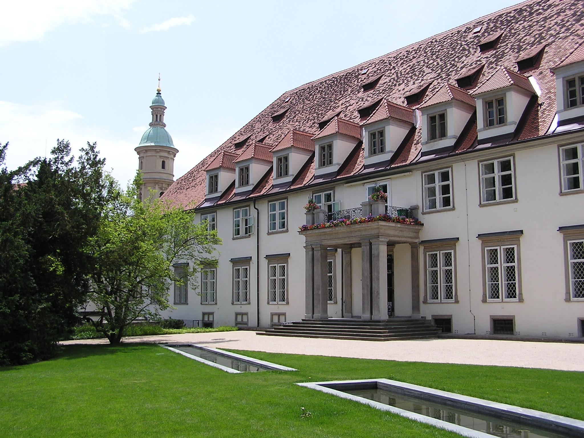 Grazer Burg mit Burggarten