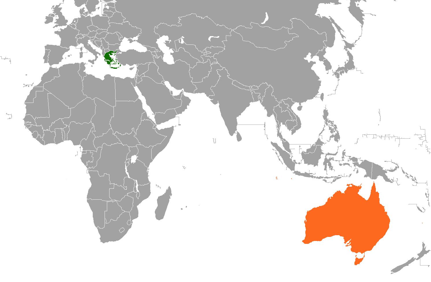 που χρονολογείται από την Αυστραλία