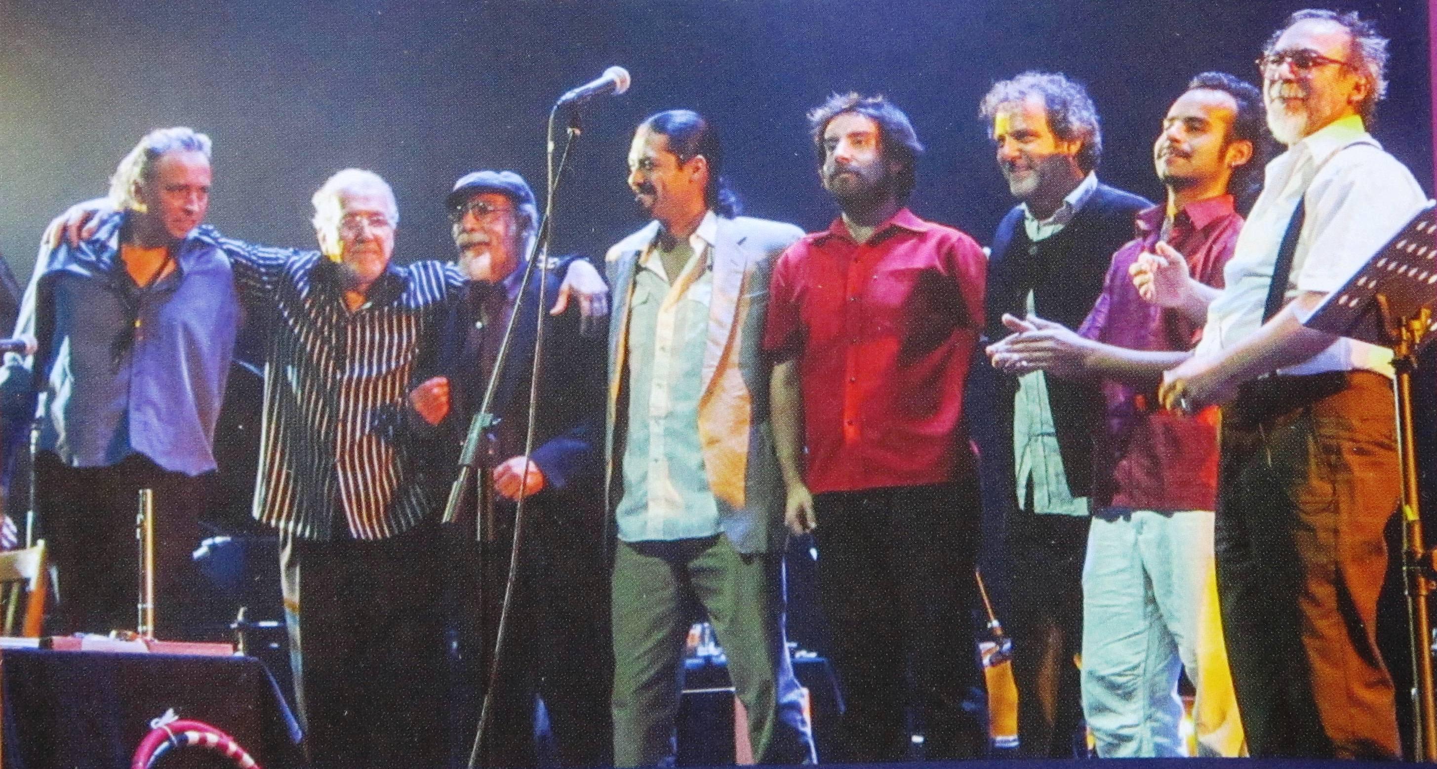 Congreso en el concierto Congreso a la carta realizado en 2012.