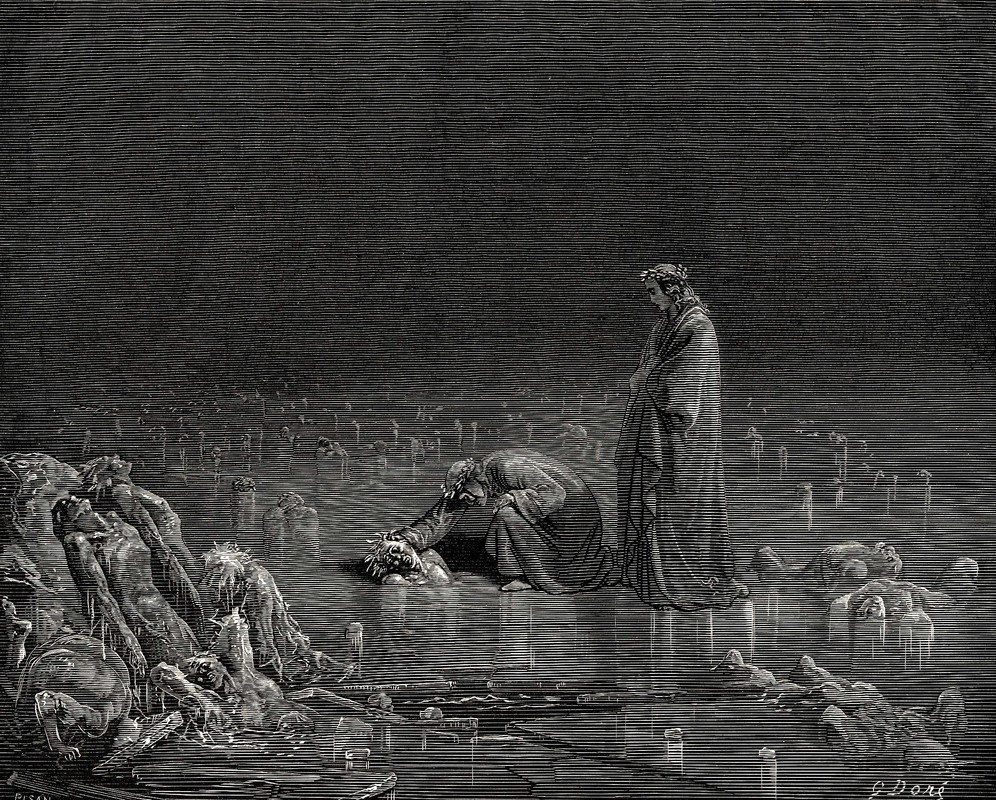 Gustave Dore Inferno32 Dantes Inferno Game ALSO Being Adapted to Anime