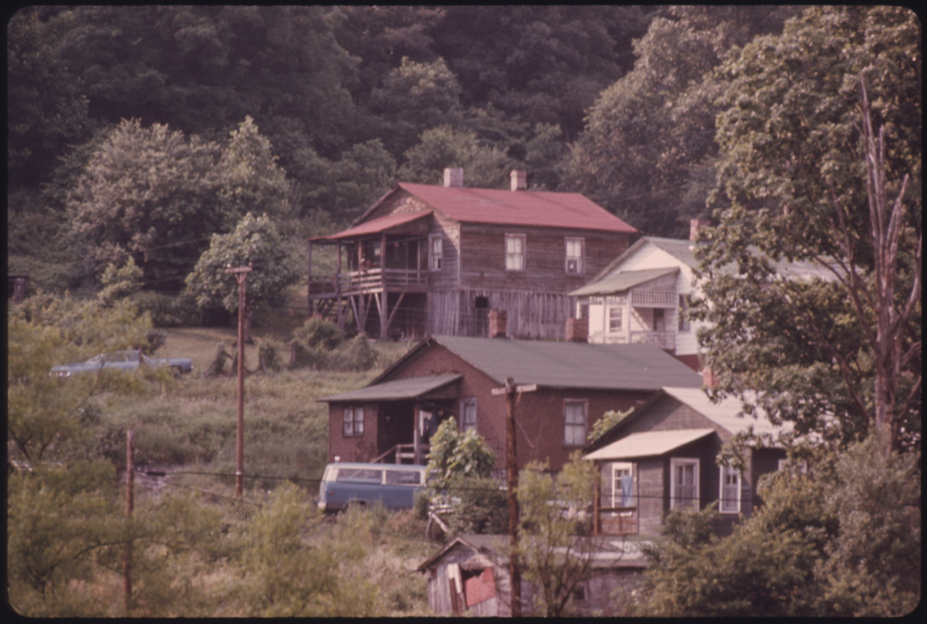 File Houses In Besoco West Virginia Near Beckley Their
