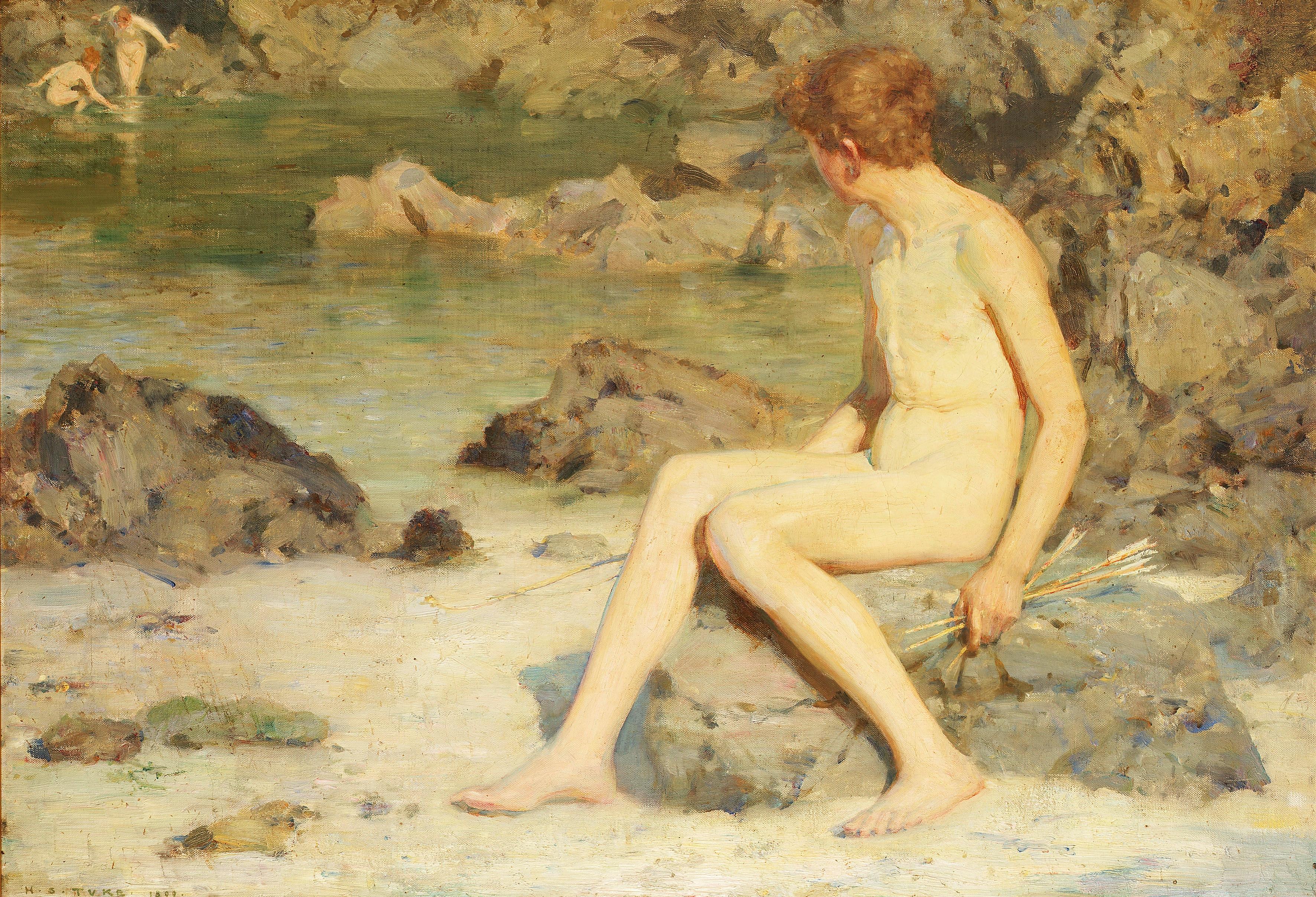 Nude Boys By Henry Scott Tuke Images