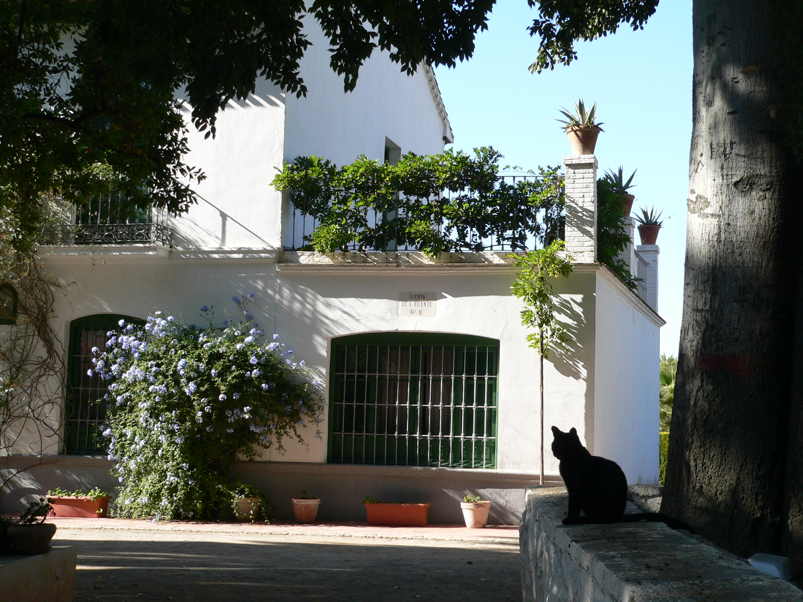File huerta de san vicente wikimedia commons for Huerta de san vicente muebles