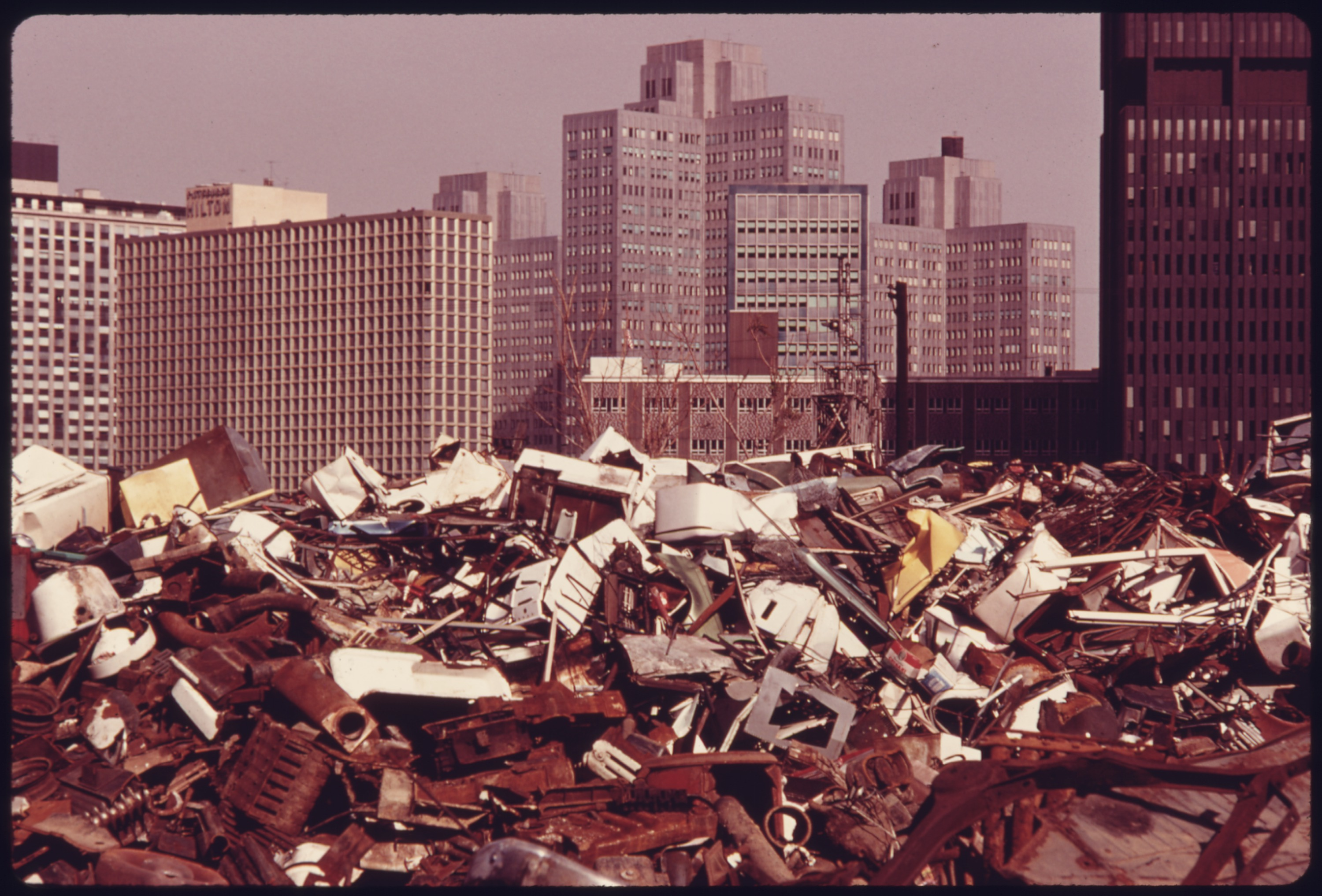 File:JUNKYARD ACROSS THE MONONGAHELA RIVER CONTRASTS WITH THE ...