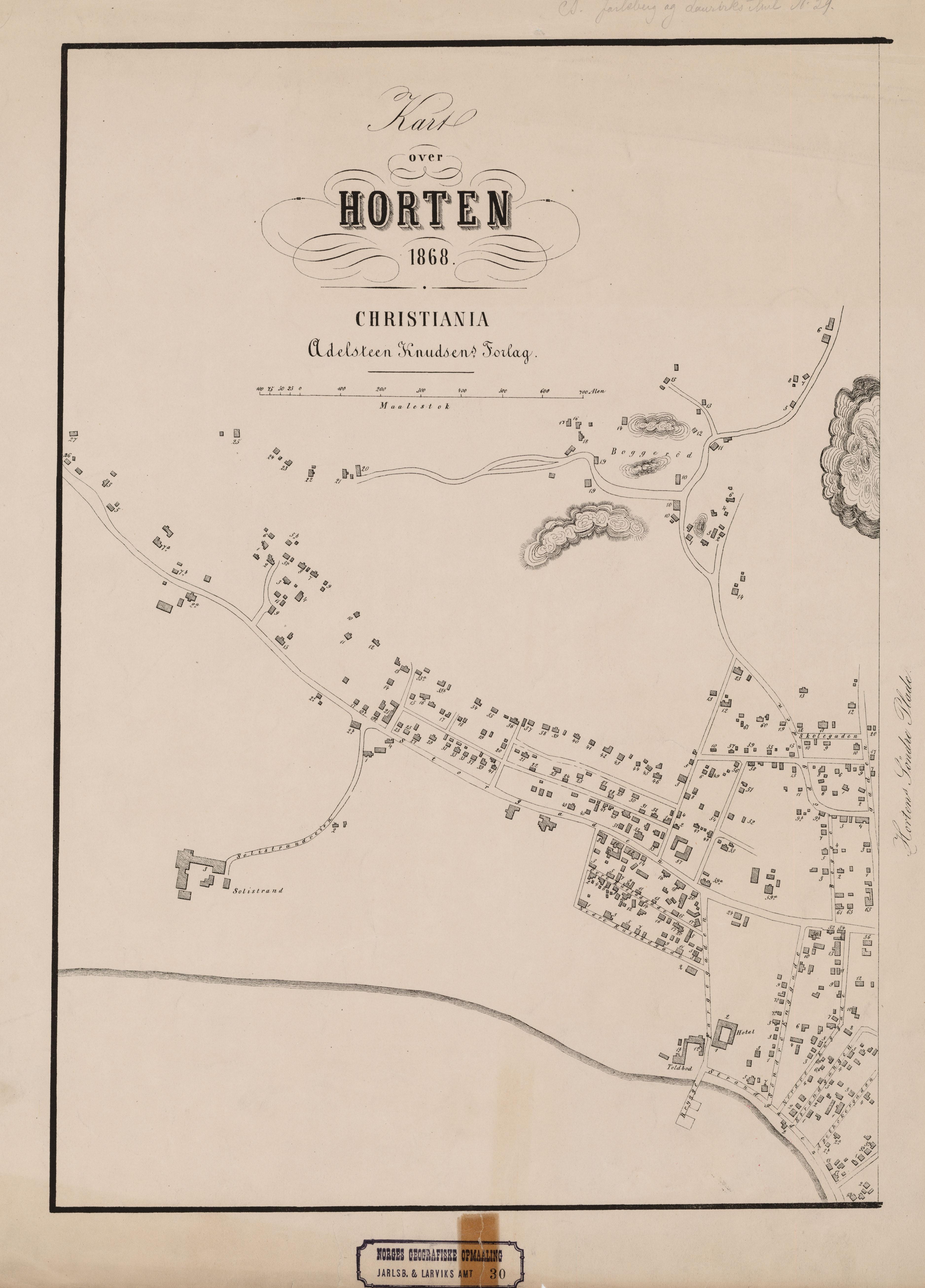 kart over vest norge File:Jarlsberg og Larviks amt nr 30 vest  Kart over Horten (vest  kart over vest norge