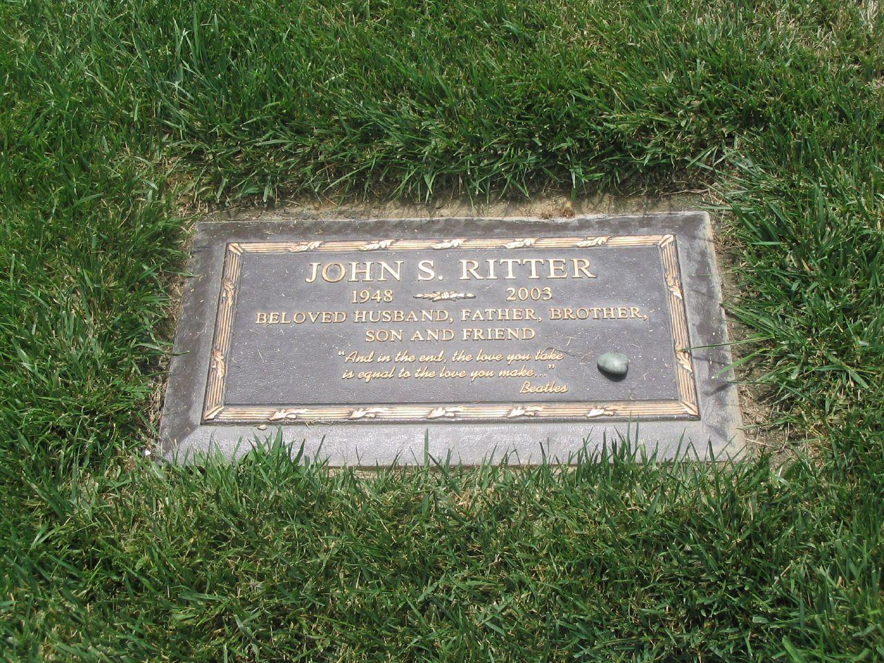 Grab von John Ritter