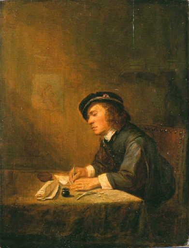 File:Joos van Craesbeeck - Young man sitting indoors, writing.jpg