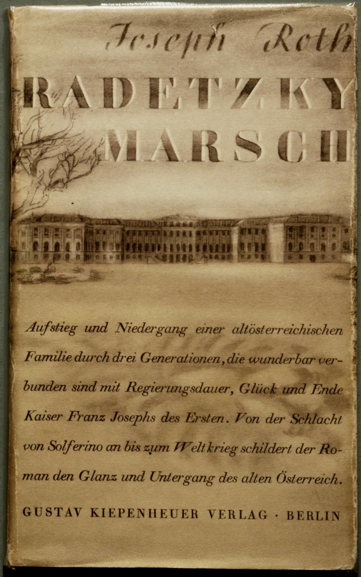 radetzky march  novel