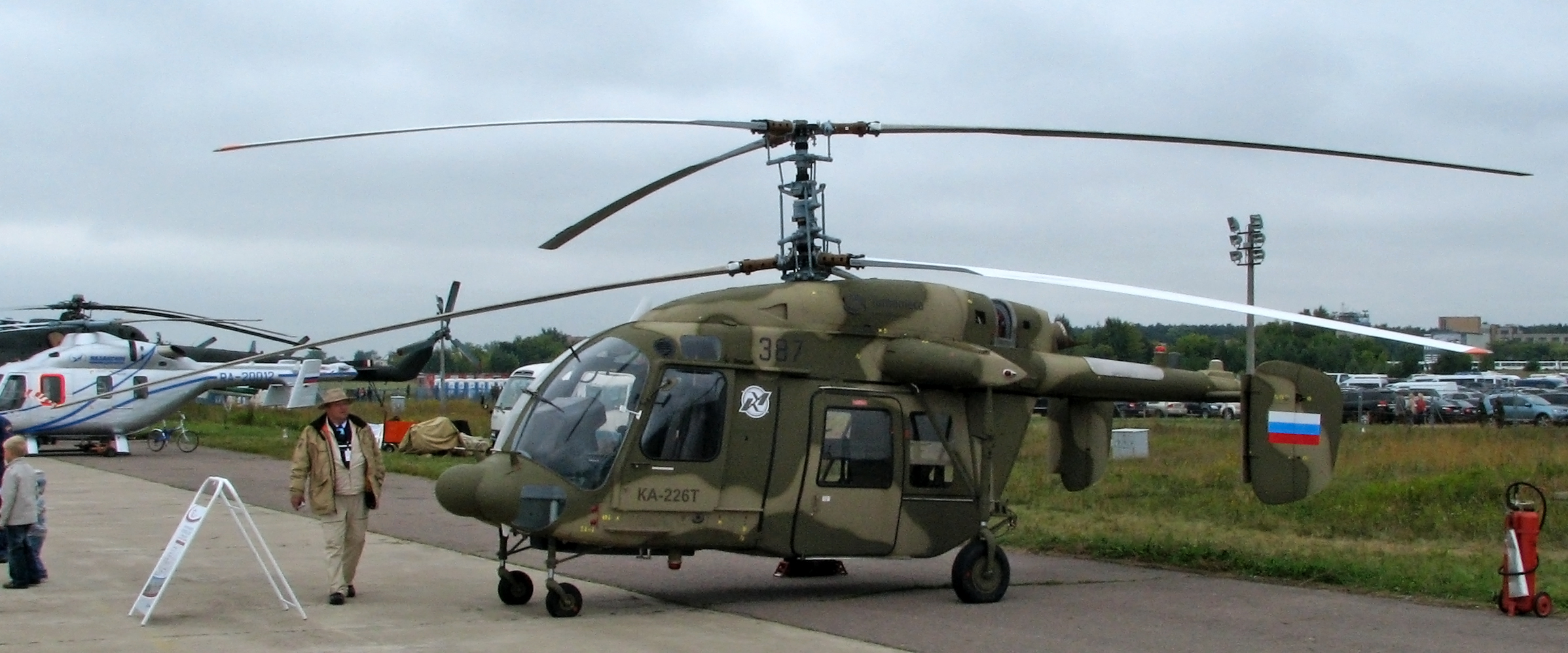 File:Kamov Ka-226T at the MAKS-2009 (01).jpg - Wikimedia Commons