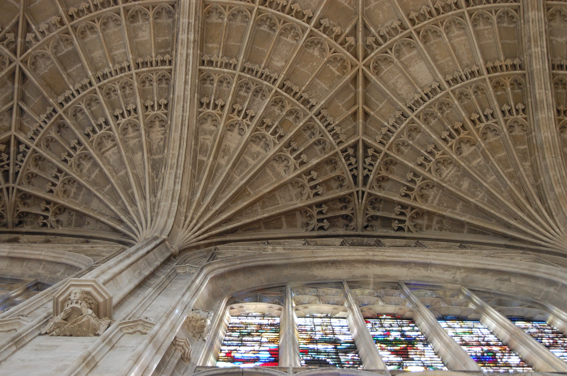 File King S College Chapel Fan Vaulted Ceiling