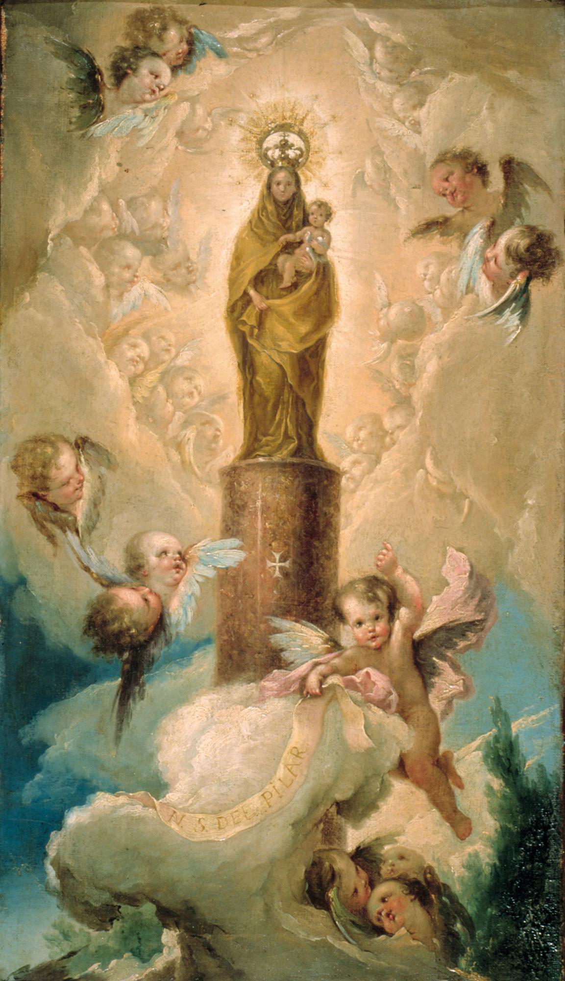 Resultado de imagen de Lc 11,27-28, virgen del Pilar