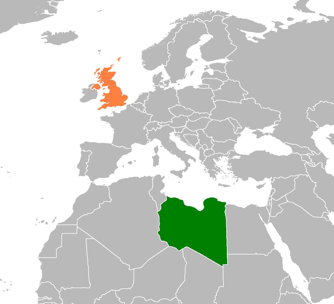 Libya United Kingdom Relations Wikipedia