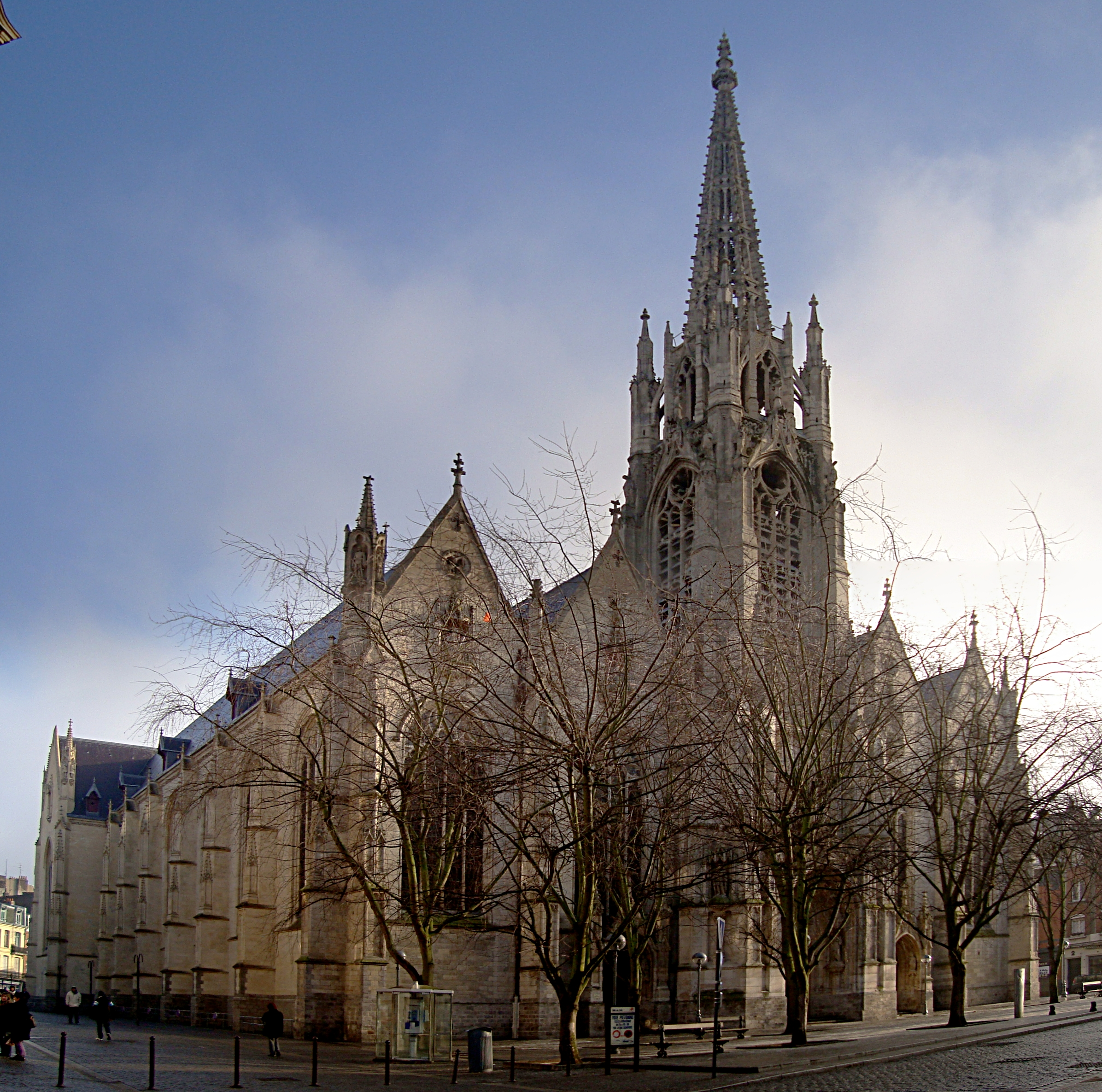 Saint-Maurice France  City new picture : Lille eglise St maurice Wikimedia Commons