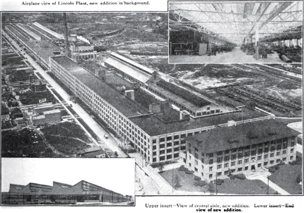 Lincoln Motor Company Plant Wikipedia
