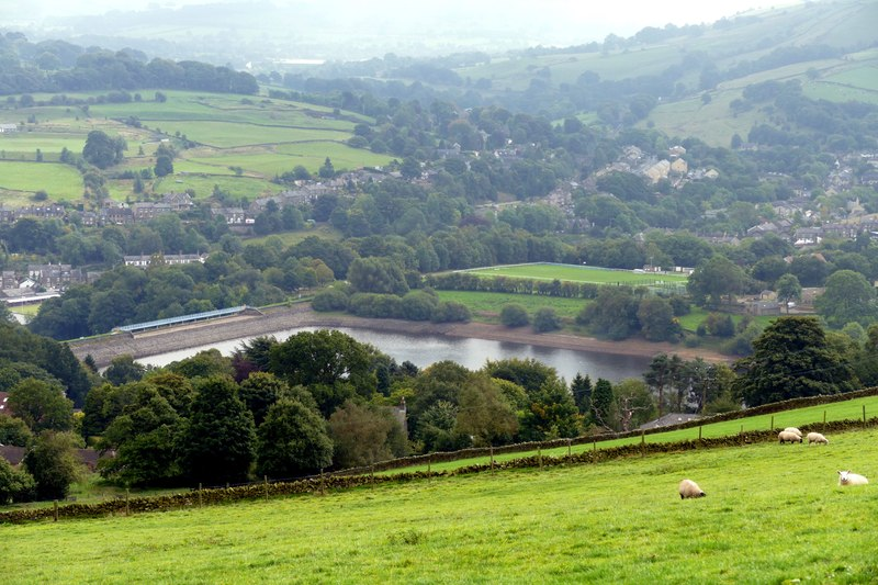 Looking over Toddbrook Reservoir (geograph 4673638)
