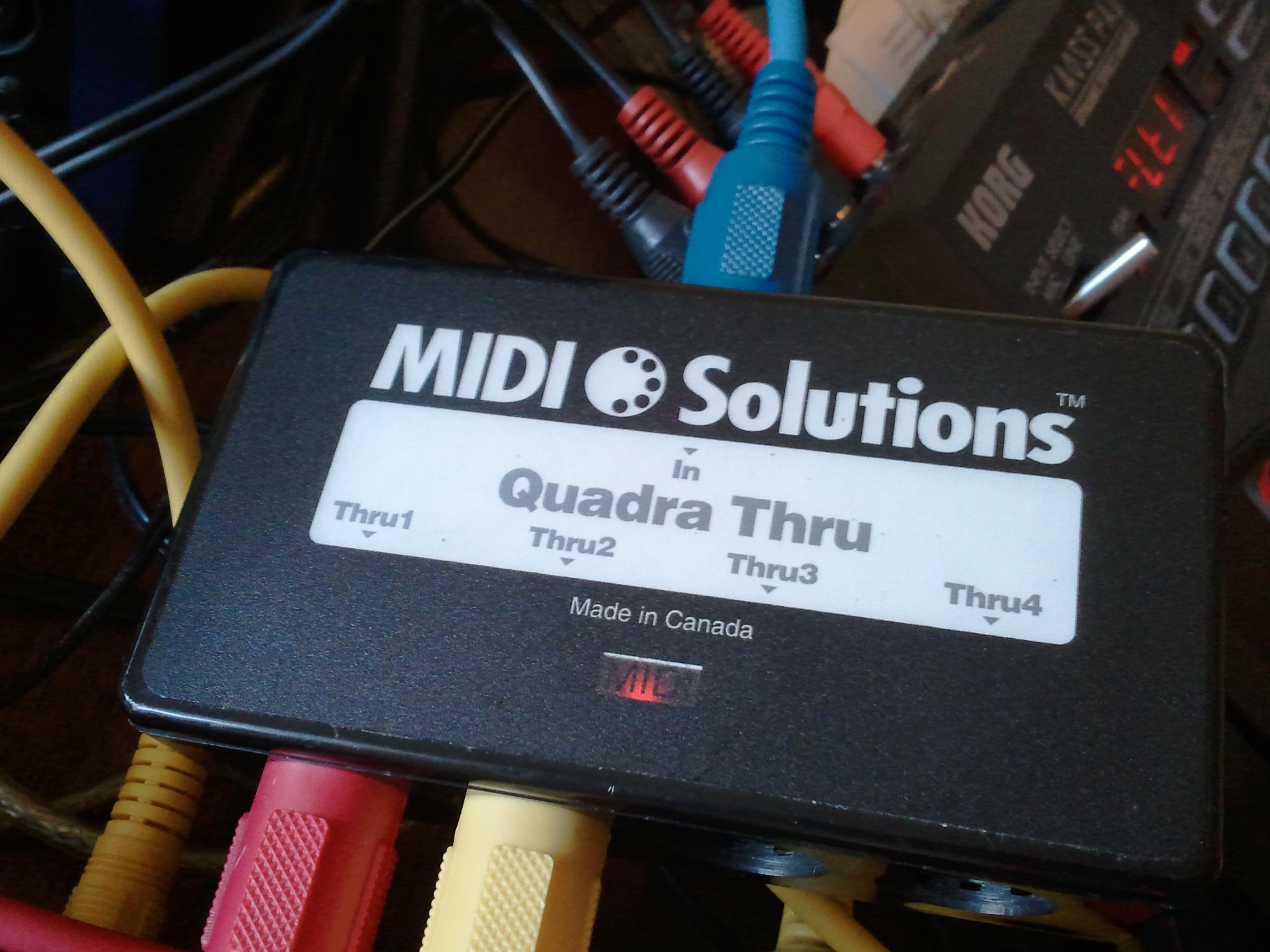 MIDI Solutions Quadra Thru Musical Instruments DJ, Electronic ...