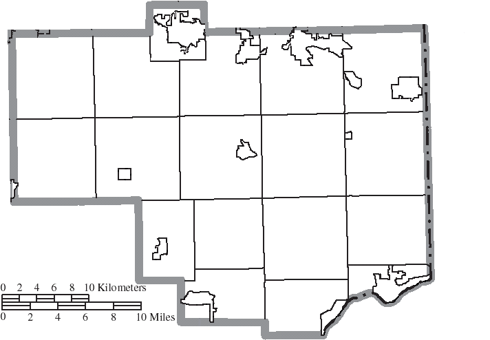 File Map Of Columbiana County Ohio No Text Municipalities Distinct
