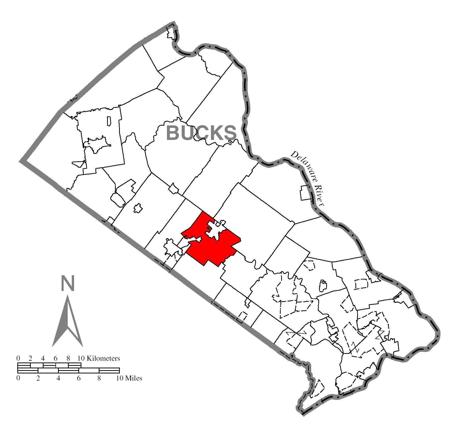 File Map Of Doylestown Township Bucks County