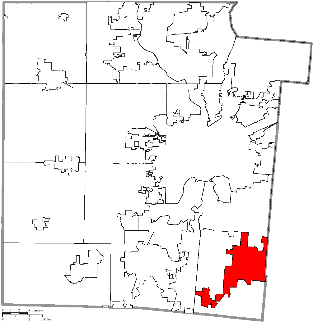 File Map Of Montgomery County Ohio Highlighting Centerville City Png