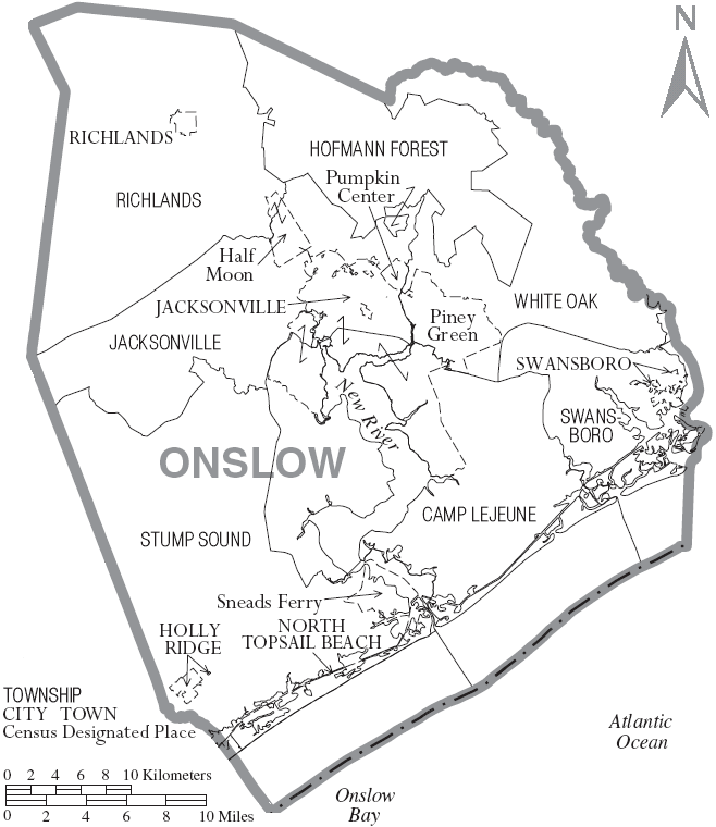 Onslow County, North Carolina