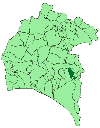 Dosya:Map of Villalba del Alcor (Huelva).png