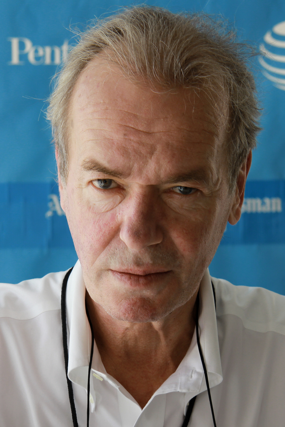 Martin Amis at the 2014 Texas Book Festival