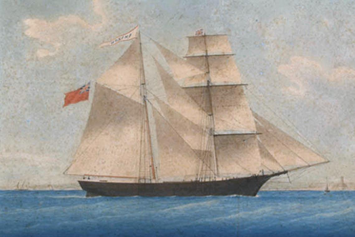 mary celeste crew members