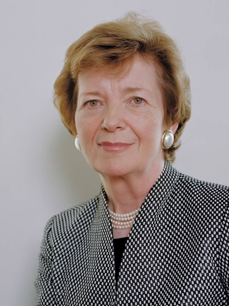 Mary Robinson in 2014